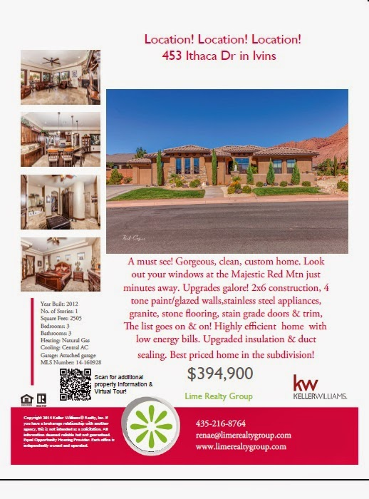 check out our new property fliers lime realty real estate of st george utah